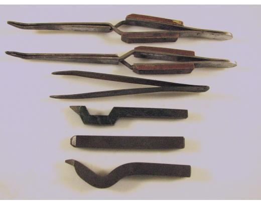 ASSORTED JEWELER'S TOOLS