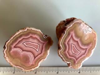Polished Laguna Agate Geodes