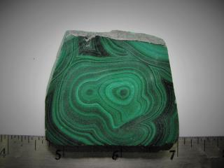 Malachite Lapidary Slab
