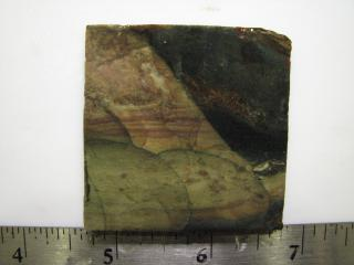 Blue Mountain Jasper Lapidary Slab