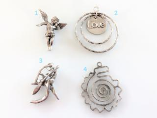 Handcrafted Sterling Silver Pendants for Necklaces