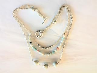Handcrafted Lamp Bead Necklace