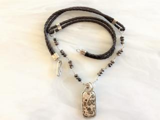 Ocean Jasper Pendant Necklace