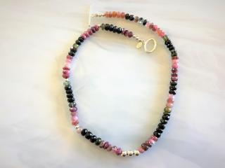 Brazilian Tourmaline Beaded Necklace