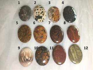 Assorted Oval Shaped Designer Cabochons