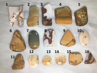 Assorted Designer Cabochons from Oregon